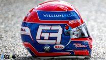 George Russell's 2021 F1 helmet