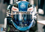 Valtteri Bottas's 2021 F1 helmet