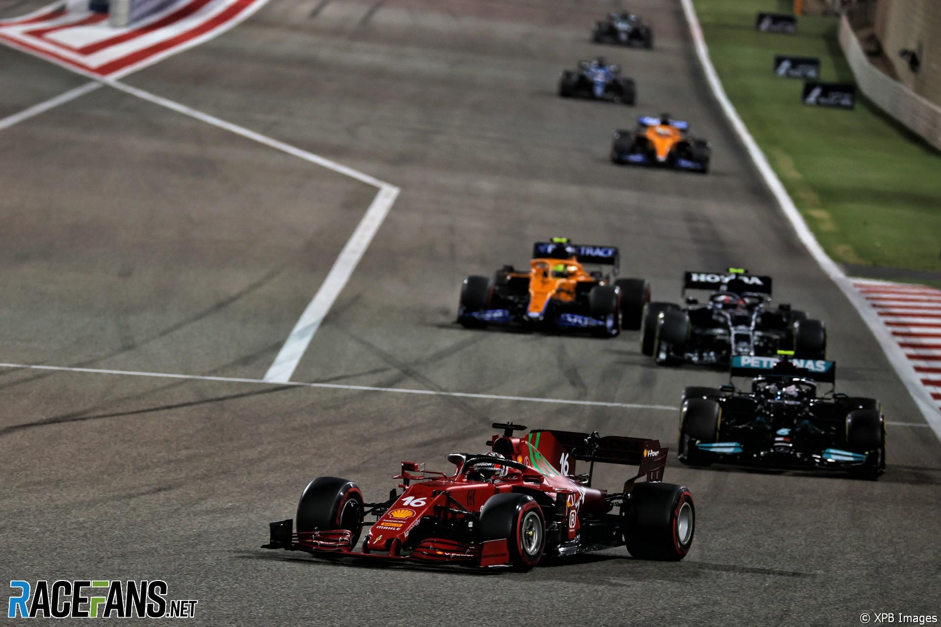 Charles Leclerc, Ferrari, Bahrain International Circuit, 2021