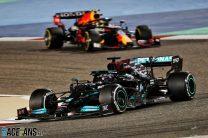 Lewis Hamilton, Mercedes, Bahrain International Circuit, 2021
