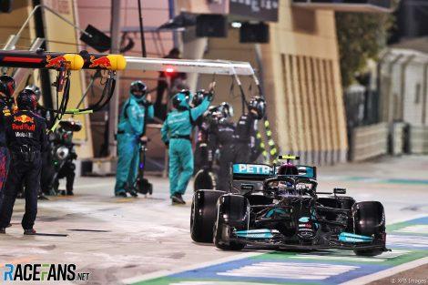 Valtteri Bottas, Mercedes, Bahrain International Circuit, 2021
