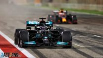 Hamilton denies Verstappen as Red Bull push Mercedes to the limit