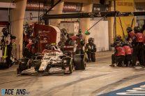 Antonio Giovinazzi, Alfa Romeo, Bahrain International Circuit, 2021