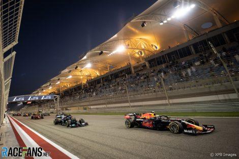 Start, Bahrain International Circuit, 2021