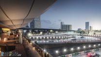 Jeddah Street Circuit rendering, 2021