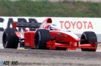Toyota TF101 launch, 2001