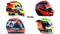 Pictures: Every F1 driver's helmet design for the 2021 season