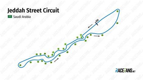 Jeddah Street Circuit, 2021