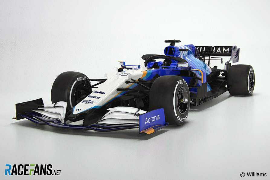 Williams FW43B livery, 2021