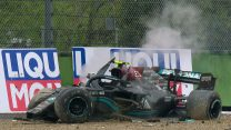 Emilia-Romagna GP stopped after huge crash involving Bottas and Russell