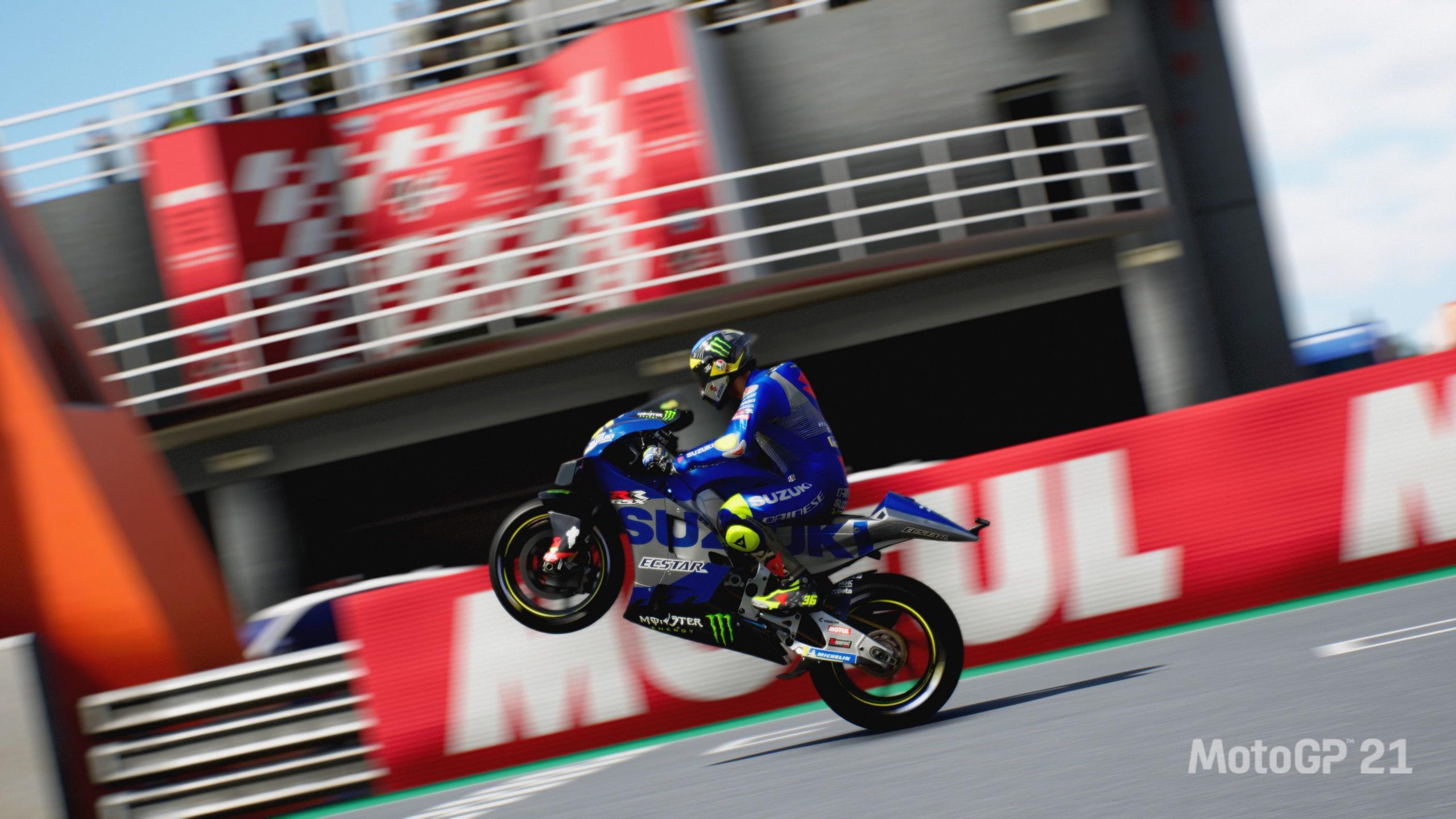 Moto GP 21 screenshot