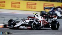 Russell impressed by Red Bull-esque qualities of Alfa Romeo's chassis
