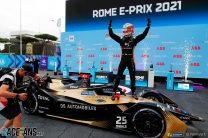Vergne victorious as Vandoorne hits manhole cover in race of drama