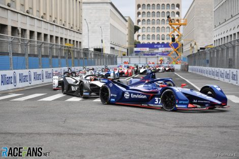 Start, Formula E, Rome, 2021