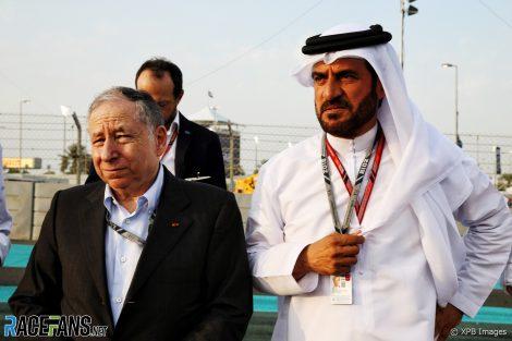 Jean Todt, Mohamed Bin Sulayem