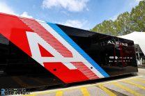 Alpine truck, Imola, 2021