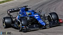 Alonso impressed by Alpine's Imola upgrade package