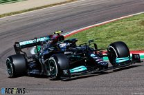 Bottas leads tight top three as Mazepin's second spin ends practice early