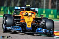 """Norris surprised to lose third on the grid by """"centimetres"""""""