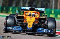 Daniel Ricciardo, McLaren, Imola, 2021