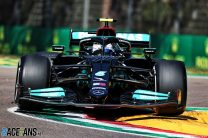 Bottas tops another close practice session at Imola as car fault stops Verstappen