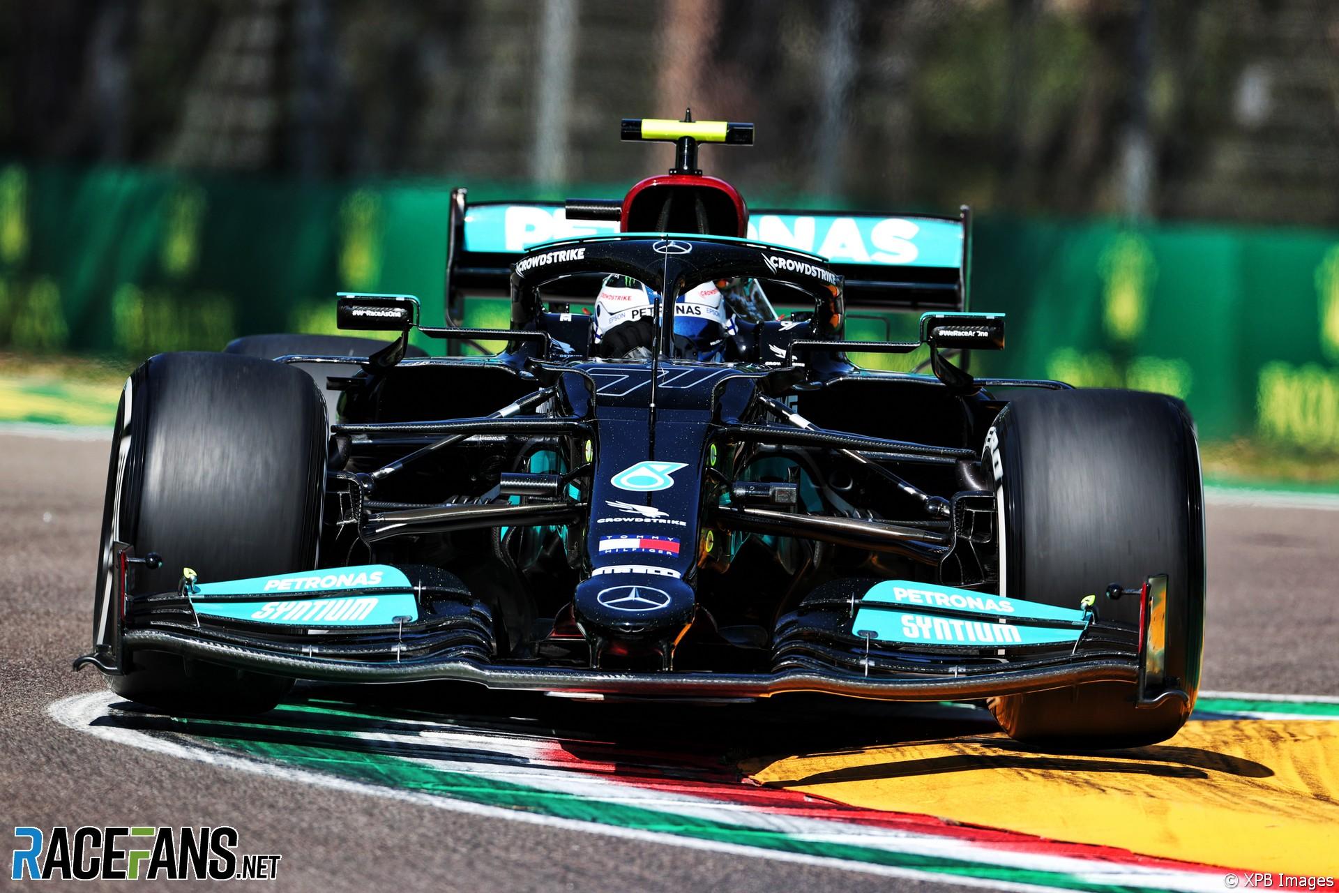 Valtteri Bottas, Mercedes, Imola, 2021