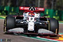 Kimi Raikkonen, Alfa Romeo, Imola, 2021