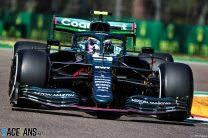 Sebastian Vettel, Aston Martin, Imola, 2021