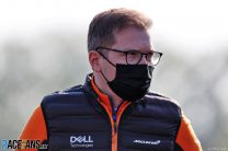 Andreas Seidl, McLaren, Imola, 2021