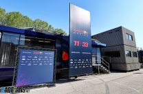 Red Bull motorhome, Imola, 2021