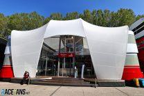 Alfa Romeo motorhome, Imola, 2021