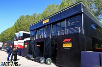 Pirelli motorhome, Imola, 2021