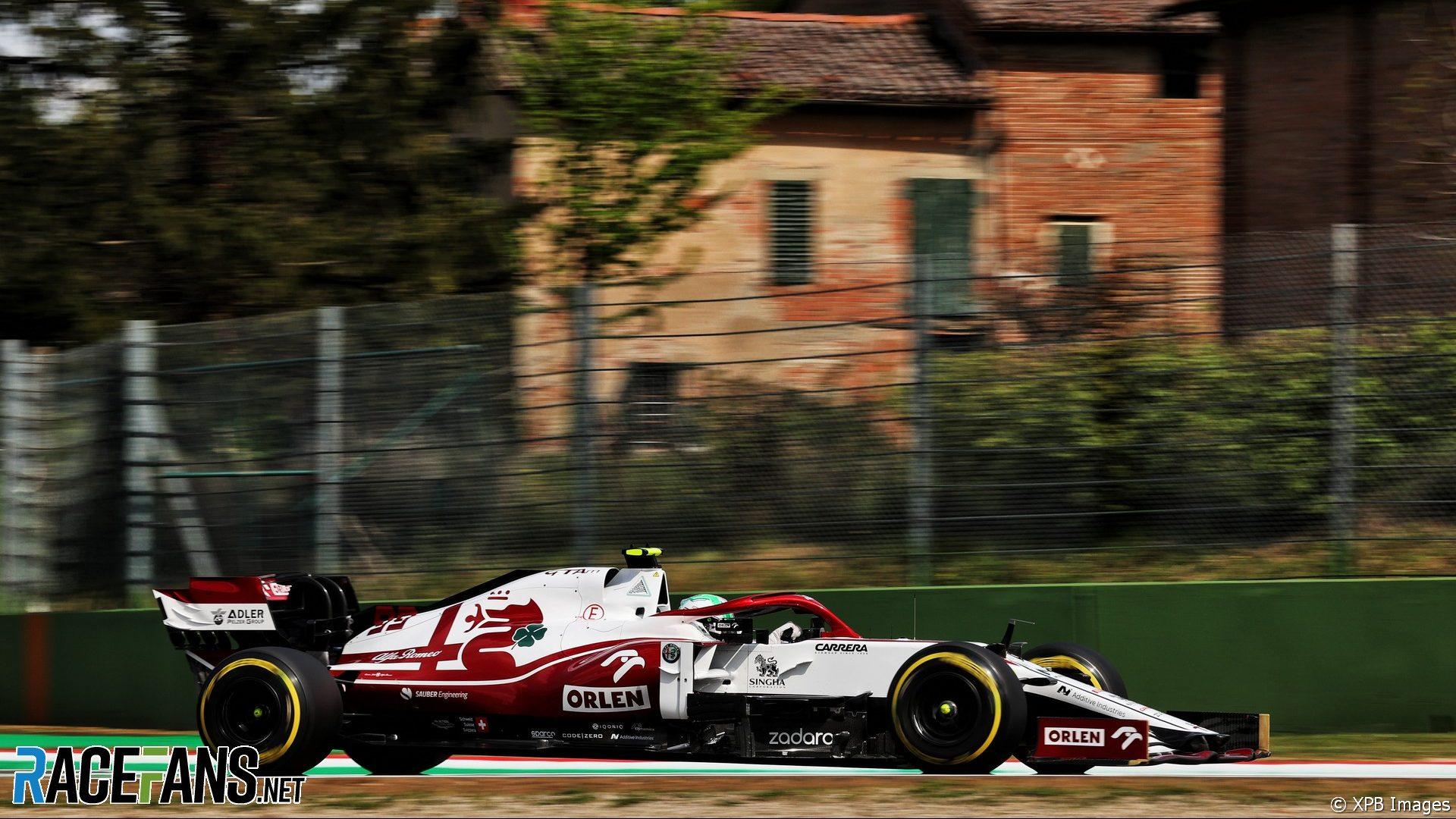 Antonio Giovinazzi, Alfa Romeo, Imola, 2021