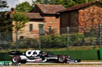 """Gasly has """"felt good in the car since the first lap"""" at Imola"""