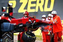 Charles Leclerc, Ferrari, Imola, 2021