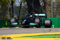 Hamilton: Mercedes making gains in Imola as 'the track has come more in our direction'