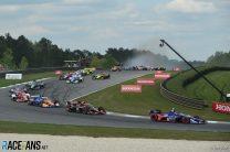First-lap crash, Barber Motorsport Park, IndyCar, 2021