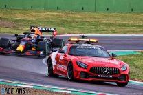 Vettel surprised by rolling restart decision despite damp track