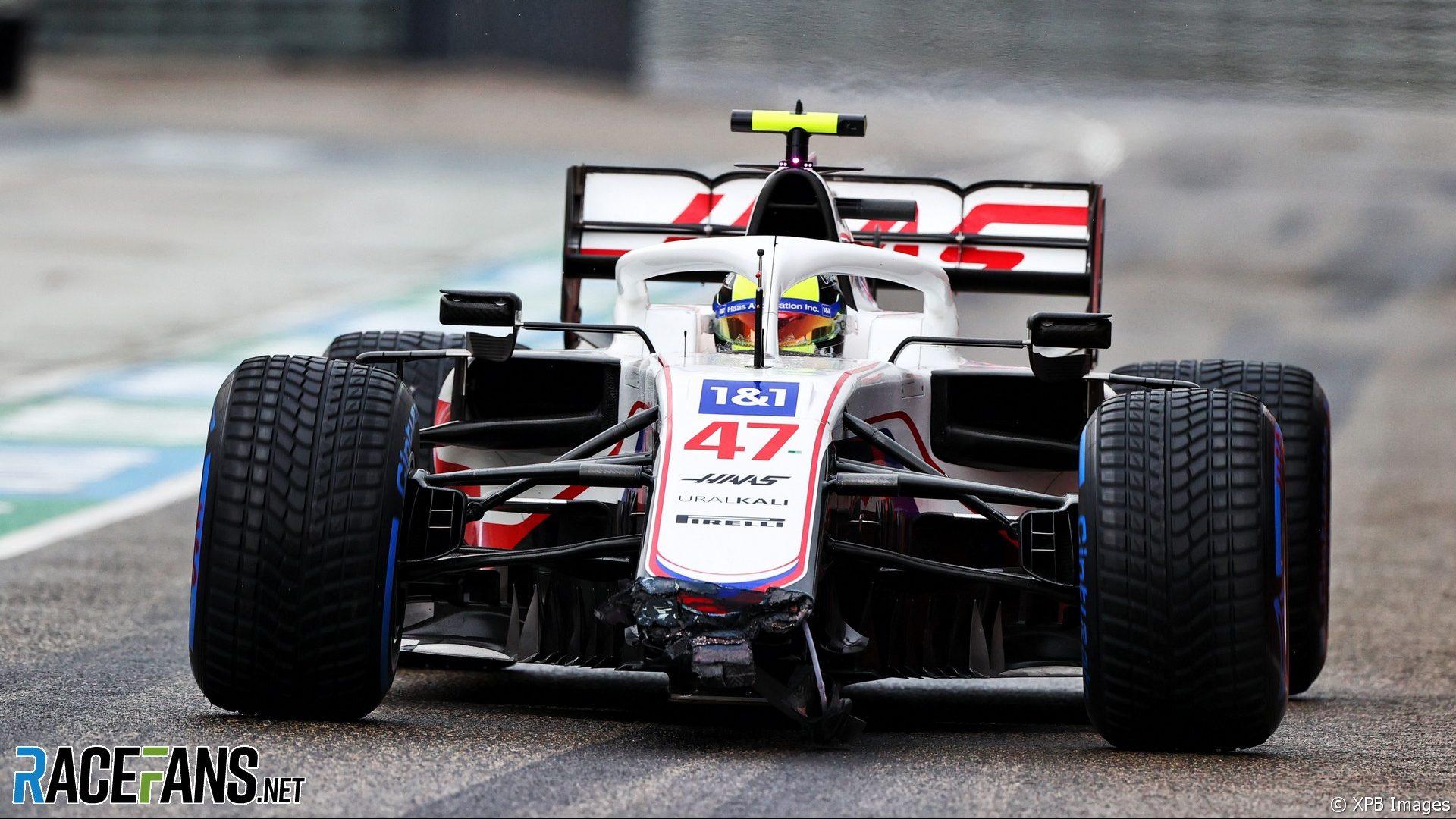 Mick Schumacher, Haas, Imola, 2021