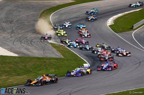Start, IndyCar, Barber, 2021