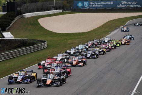 Start, IndyCar, Barber Motorsport Park, 2021