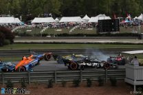 Felix Rosenqvist, Sebastien Bourdais, Barber Motorsport Park, IndyCar, 2021
