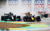 Hamilton lucky to come off second best after latest duel with Verstappen