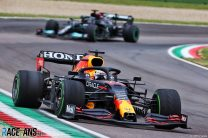 Verstappen wins chaotic Emilia-Romagna GP as Hamilton recovers from error for second