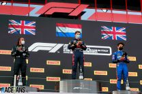 Two British drivers on the podium for the first time in nine years