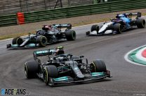 Russell and Bottas cleared of blame for race-stopping shunt