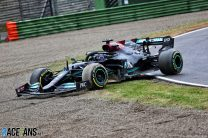 'Hamilton didn't break the rules by reversing' shouldn't be a story
