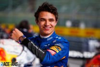 """""""He was on it the whole weekend"""": Norris impresses former team mate Sainz"""