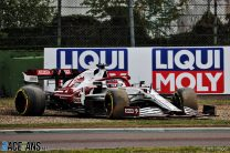 Raikkonen loses points finish after 30-second time penalty, Alonso takes 10th