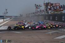 Start, St Petersburg, IndyCar, 2021